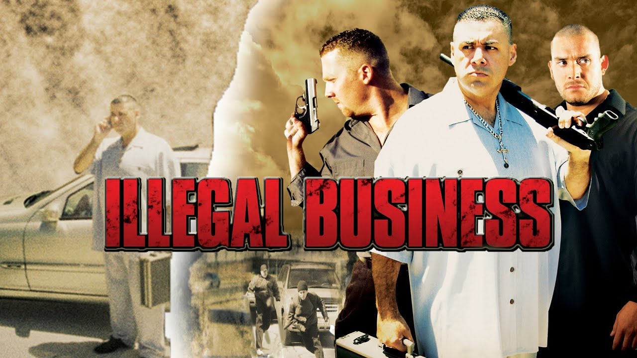 Illegal Business Movie Trailer   FlixHouse