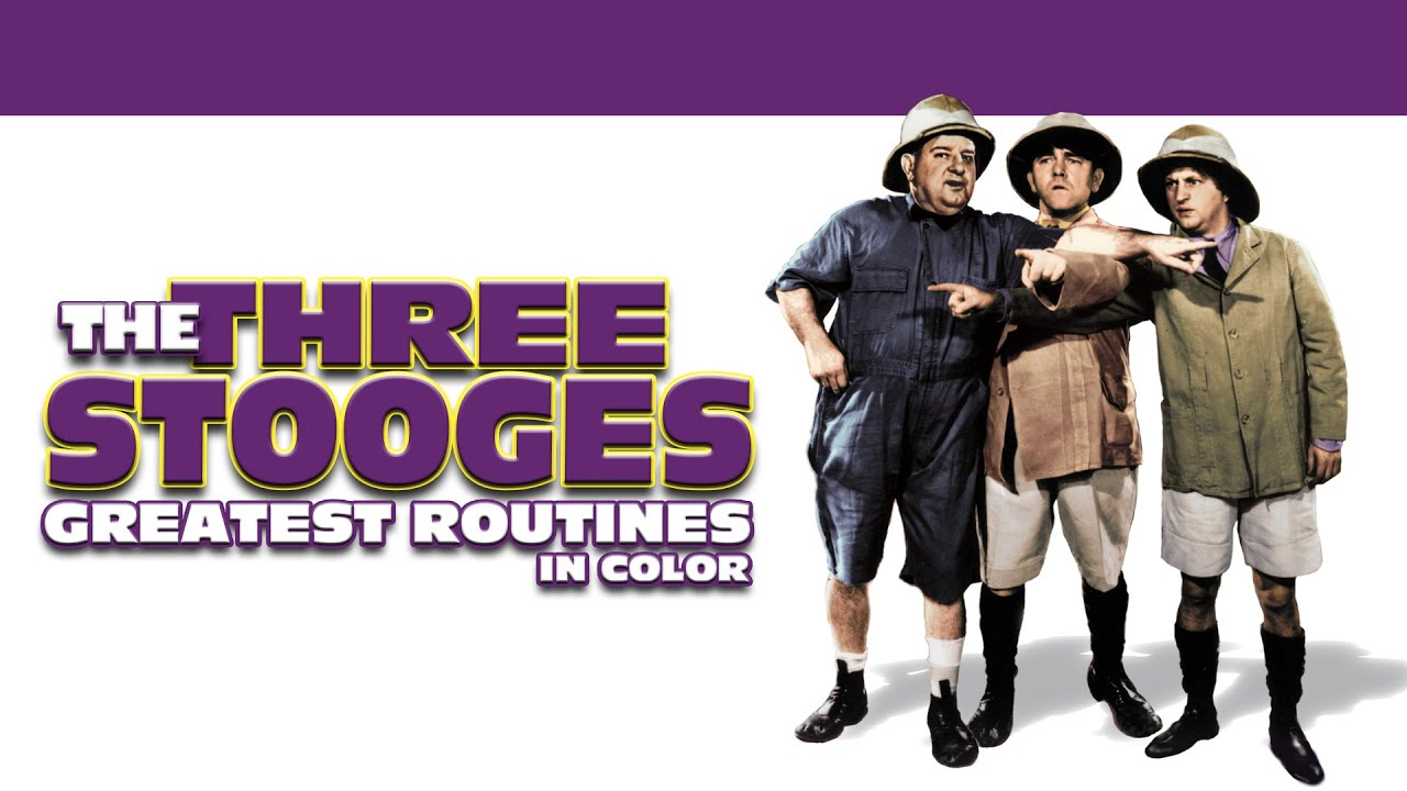 Three Stooges: Greatest Routines (in Color) Trailer   FlixHouse