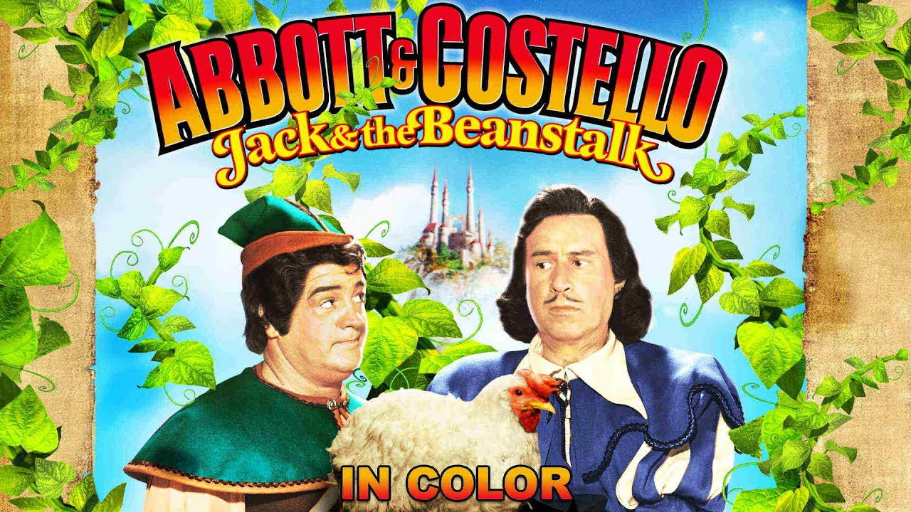 Abbott and Costello Jack and the Beanstalk (in Color) Movie Trailer | FlixHouse