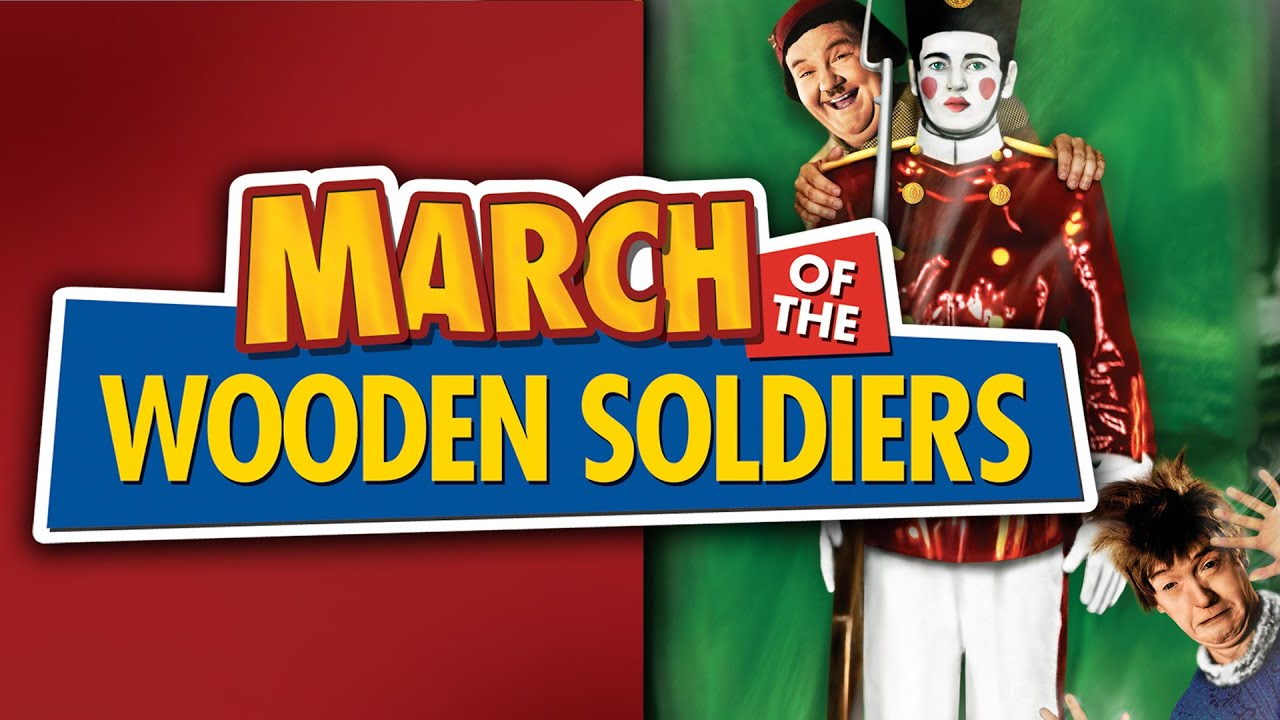 March Of The Wooden Soldiers (in Color) Movie Trailer | FlixHouse