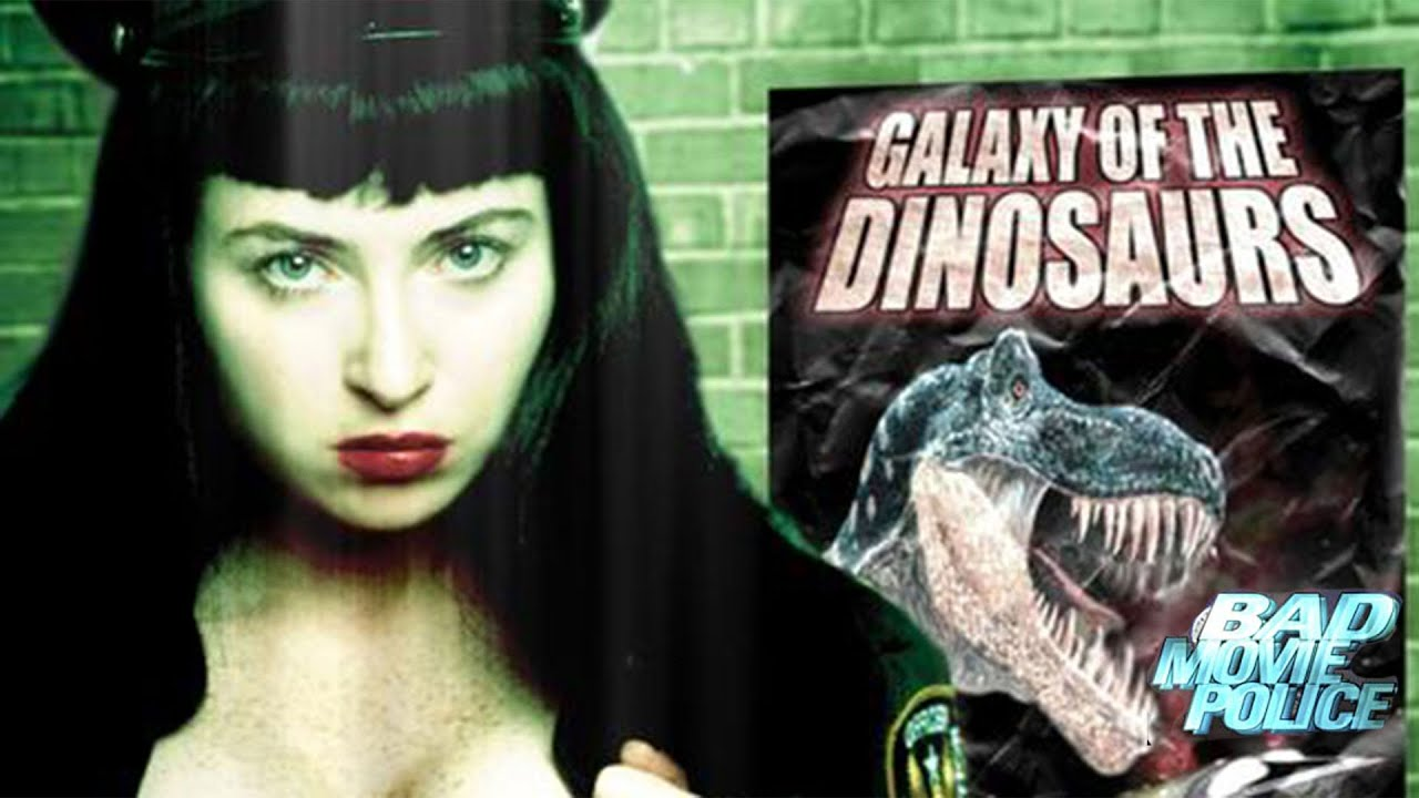 Bad Movie Police Case #1: Galaxy of the Dinosaurs(2003) Movie Trailer   FlixHouse