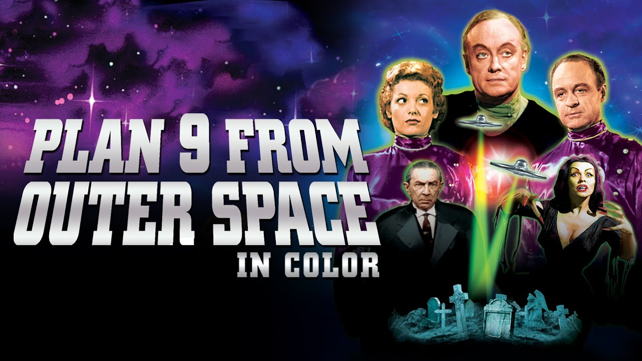 Plan 9 From Outer Space (in Color) Movie Trailer | FlixHouse