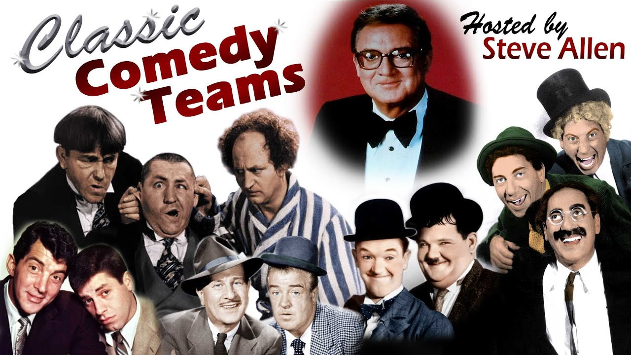 Classic Comedy Teams Hosted By Steve Allen - Trailer | FlixHouse