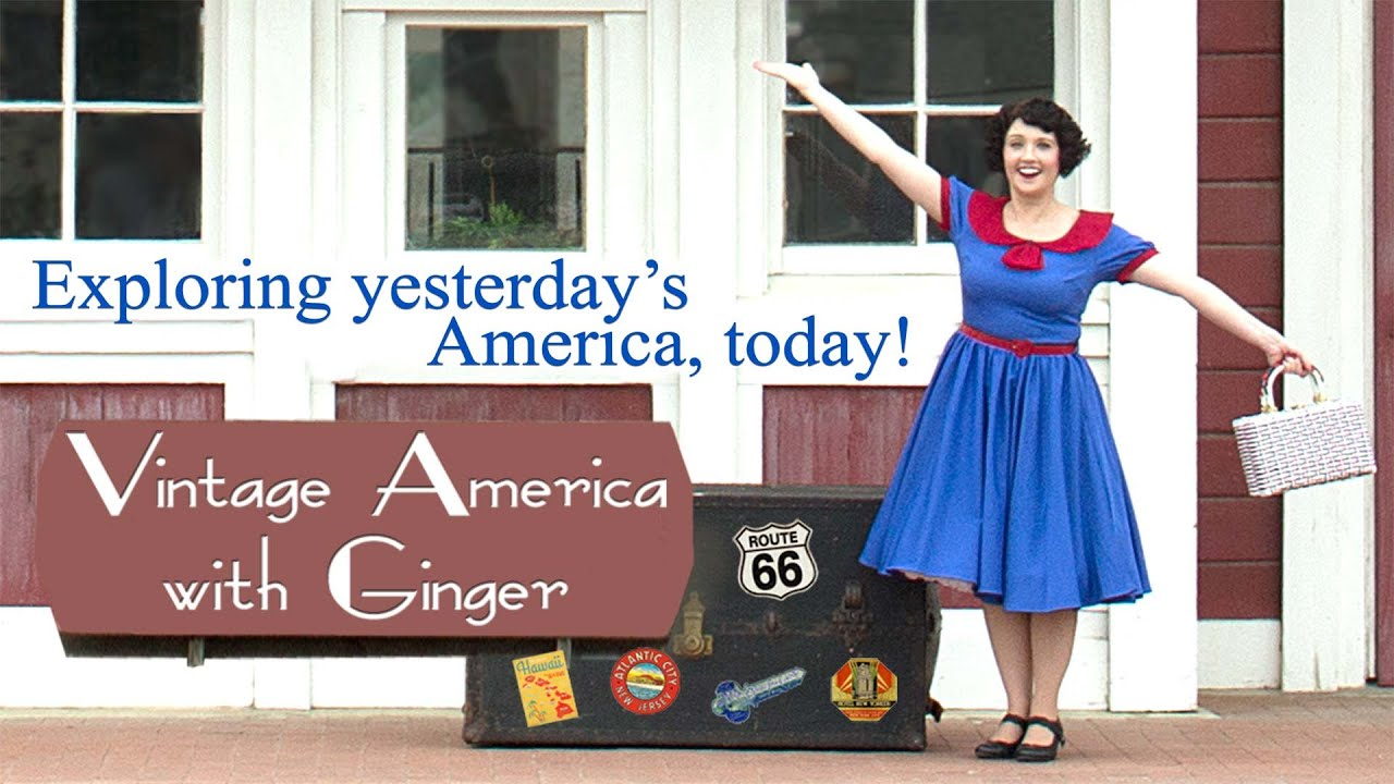 Vintage America with Ginger - 3 Episodes Series Trailer | FlixHouse